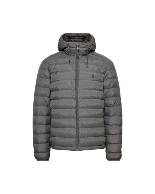 Pink Pony | Gray Packable Hooded Down Jacket for Men | Lyst