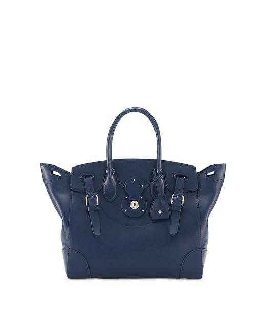 Ralph Lauren - Blue Navy Nappa Leather Soft Ricky - Lyst