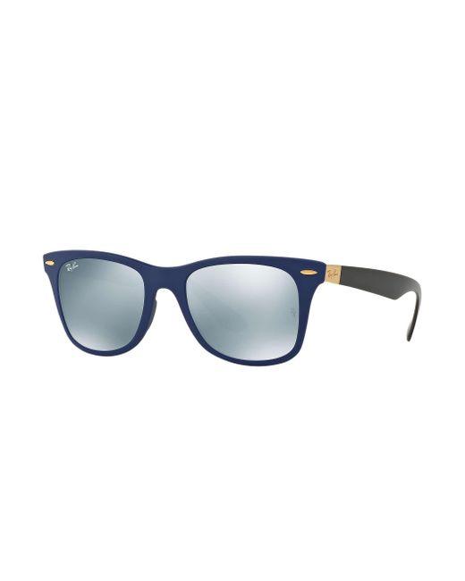 68841d83c4 Ray-Ban Wayfarer Liteforce in Blue for Men - Lyst