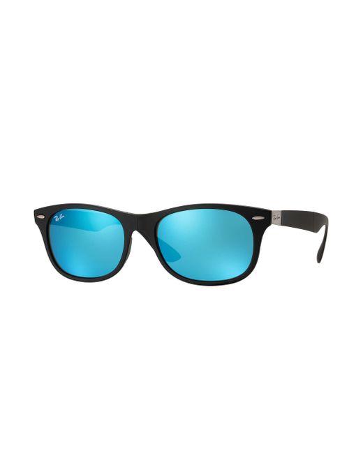 cc909a47b64 Lyst - Ray-Ban New Wayfarer Folding Liteforce in Blue for Men