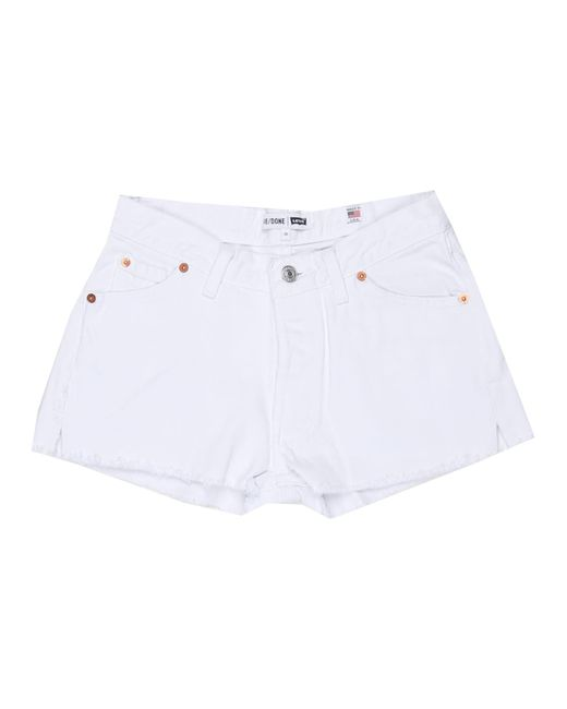 Re/done | The White Short | Lyst