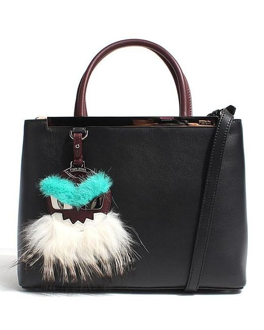 Fendi - Black Shopping 2jours Petite Tote - Lyst ... 27f1385d2c7ae