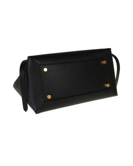 ae9a629d5f ... Céline - Black Belt Bag Mini - Lyst ...