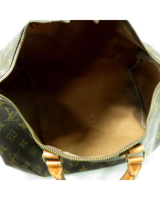 d164a61ce11 Women's Brown Auth Speedy 40 Boston Hand Bag M41522 Monogram Canvas Used  Vintage