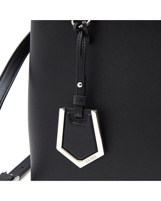4893f5d36c ... handbags 3851c 03f1d best price fendi black shopping 2jours petite tote  lyst d94e0 0d0a5 ...