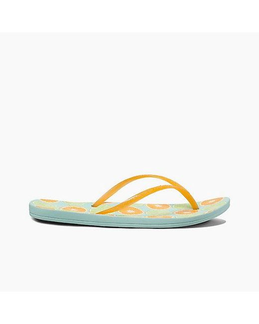 dc29feea8a7850 ... Reef - Yellow Escape Lux Print - Lyst ...