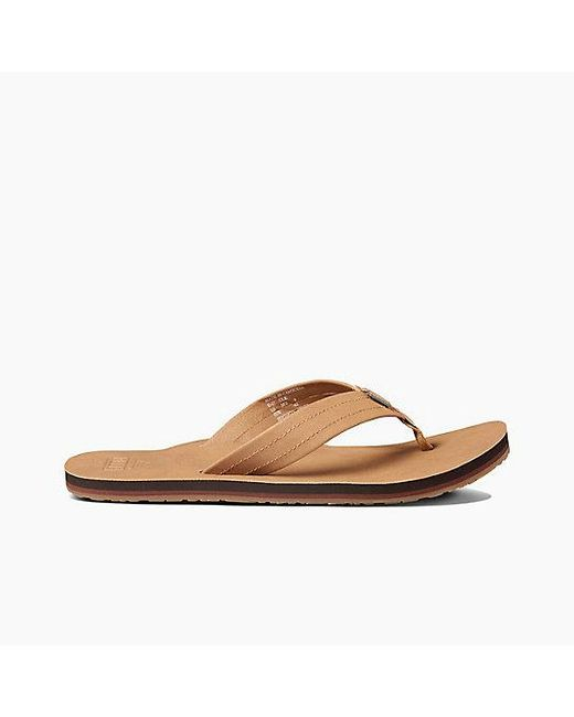 032e8ad88a8 Lyst - Reef Crew Sl in Brown for Men - Save 29%