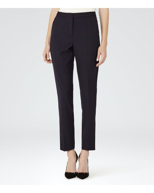 Reiss | Blue Tyra Trouser | Lyst