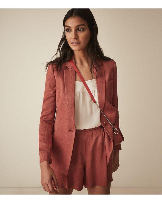 9789f1730f33a ... Reiss - Ayla Jacket - Textured Blazer - Lyst ...