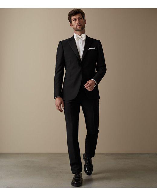 Reiss - Black Mayfair - Modern-fit Peak-lapel Tuxedo for Men - Lyst