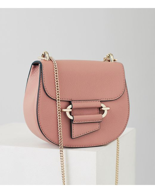 760902a930ba Reiss - Pink Maltby Mini - Mini Cross-body Bag - Lyst ...