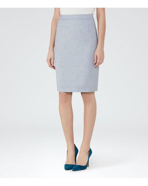 Reiss | Blue Wren Skirt | Lyst