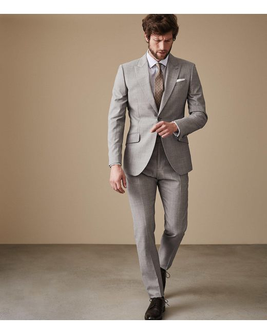Reiss - Gray Serbelloni for Men - Lyst