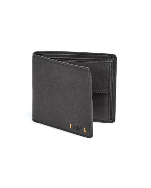 BOSS Orange | City 4cc Coin Holder Black Wallet for Men | Lyst