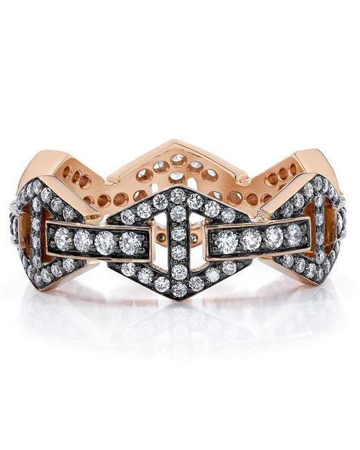 Walters Faith Multicolor Keynes Signature Diamond Hex Ring