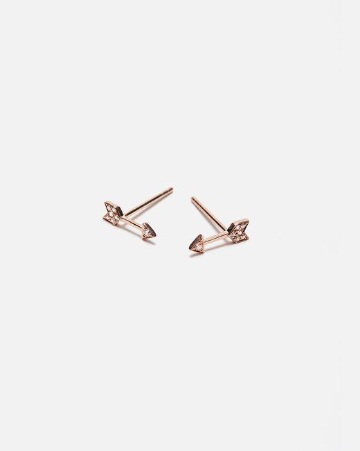EF Collection | Multicolor Mini Arrow Stud Earrings | Lyst