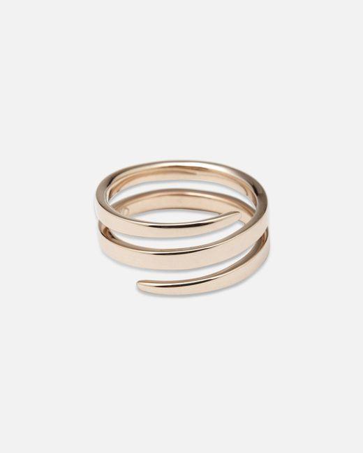 Anita Ko - Metallic Gold Coil Ring - Lyst
