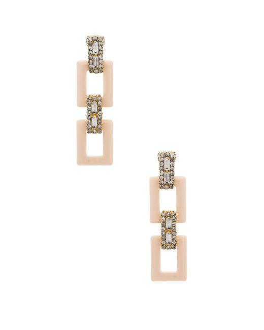 Elizabeth Cole - Metallic Tait Earrings - Lyst