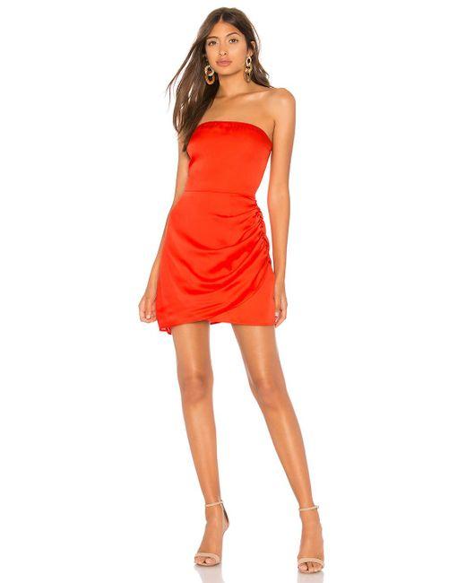 Lovers + Friends - Sajan Mini Dress In Red - Lyst