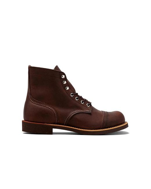 Red Wing - Red Iron Ranger 6 Iron Ranger In Chocolate for Men - Lyst