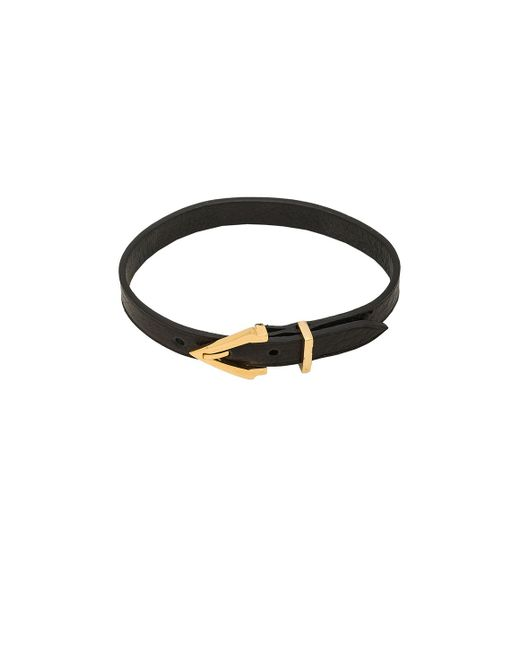 Vita Fede   Black Mini Titan Pelle Bracelet   Lyst