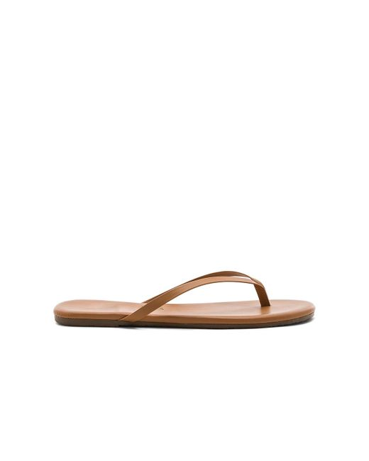 02b514c7b6a2 ... TKEES - Brown Foundations Flip Flops - Lyst ...