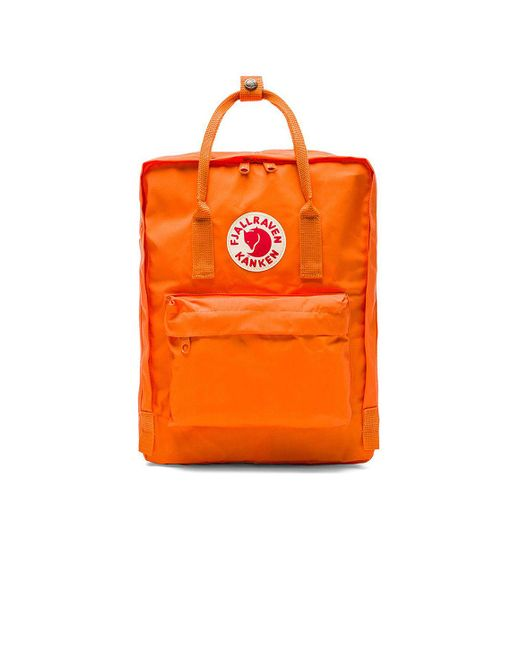 Fjallraven - Orange Kanken for Men - Lyst