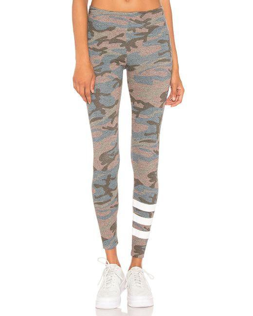 Sundry - Gray Camo Yoga Pant - Lyst