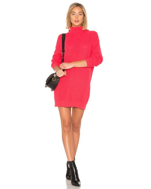 Lovers + Friends - Pink Christina Sweater Dress - Lyst