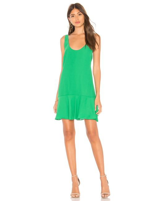 Amanda Uprichard - Green Soren Dress - Lyst