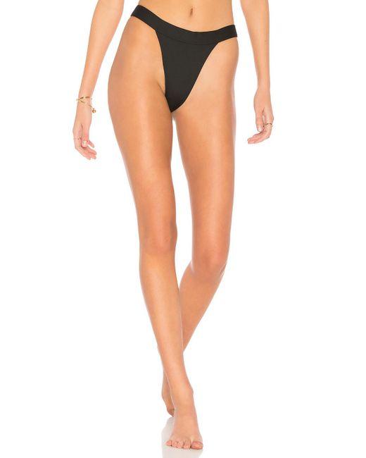 Minimale Animale - Multicolor The Overdrive Bikini Bottom In Black - Lyst