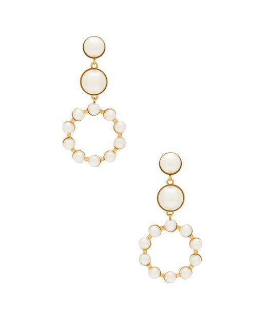 Elizabeth Cole - Marge Earrings In Metallic Gold. - Lyst