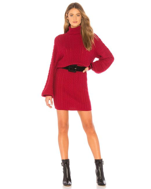 Joie - Red Jelinelle Sweater Dress - Lyst