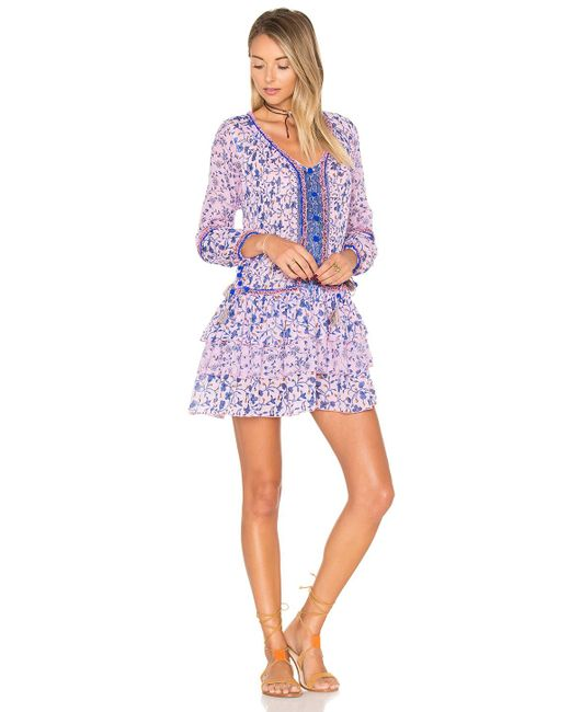 Poupette | Multicolor Bobo Mini Dress | Lyst