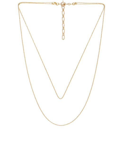Five And Two - Metallic Camille Necklace - Lyst