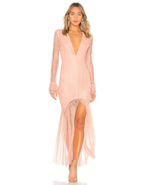 6ce59326 Lovers + Friends - Pink Zelda Gown - Lyst ...
