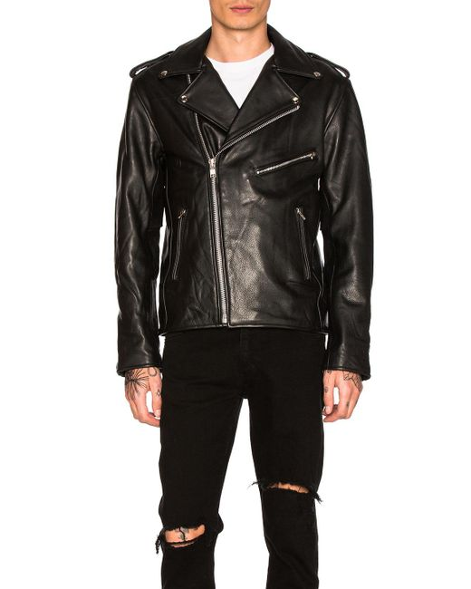 Urban Outfitters - Easy Rider Mc Jacket In Black for Men - Lyst