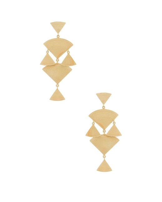 Elizabeth and James - Metallic Wren Earrings - Lyst