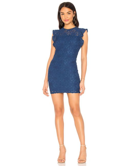 BB Dakota - Blue Jack By Monae Dress In Royal - Lyst