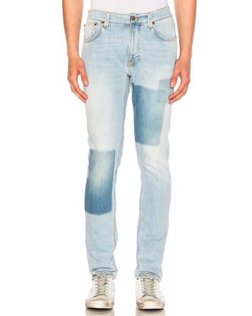 Nudie Jeans | Blue Lean Dean for Men | Lyst