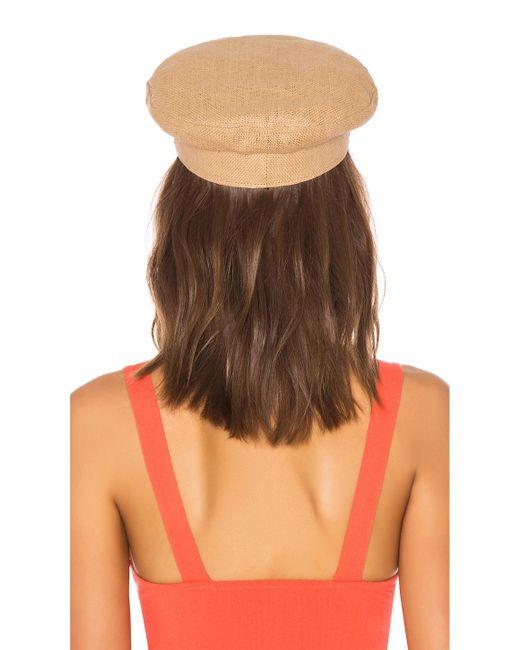 baaff6ad947e3 ... Brixton - Multicolor Kayla Straw Hat - Lyst ...