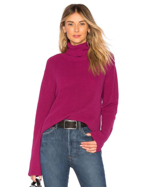 Callahan - Multicolor X Revolve Turtleneck Sweater In Purple - Lyst