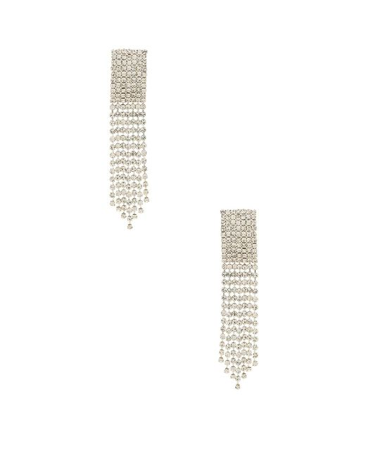 Frasier Sterling - Ice Ice Baby Earrings In Metallic Silver. - Lyst