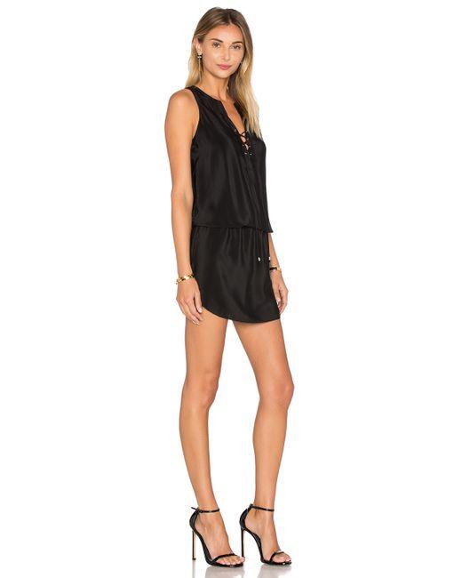 Amanda Uprichard Michaela Dress In Black Lyst