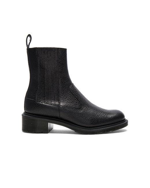 dr martens eleanore chelsea boot in black lyst. Black Bedroom Furniture Sets. Home Design Ideas