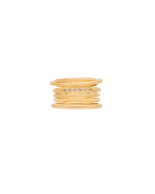Elizabeth and James | Multicolor Roxy Ring | Lyst