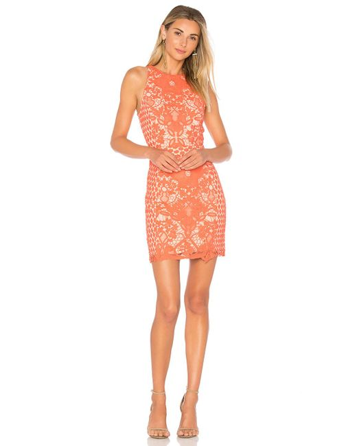 Endless Rose | Multicolor High Neck Floral Crochet Dress | Lyst