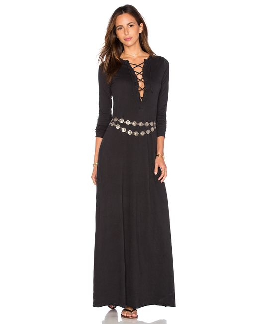Free People | Folk Song Dress - Black | Lyst