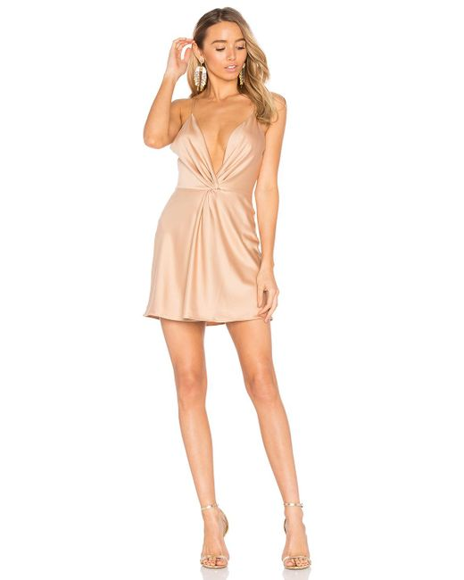 House of Harlow 1960 | Natural X Revolve Sharon Dress In Camel | Lyst