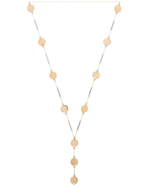 House of Harlow 1960 | Metallic Nuri Y Necklace | Lyst